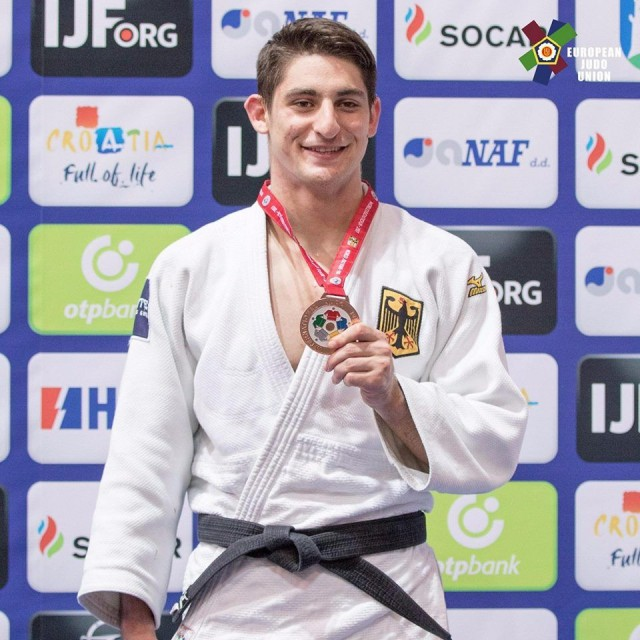 Eduard Trippel gewinnt Bronze bei der U21 Weltmeisterschaft in Zagreb