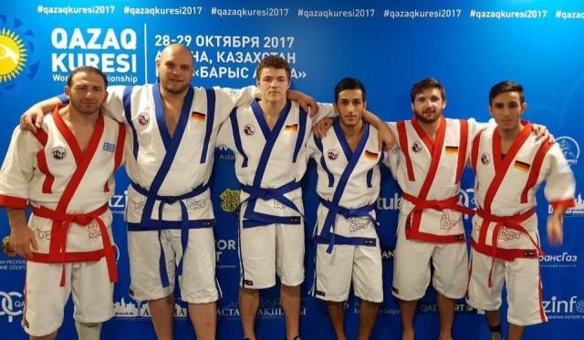 Bundesligakämpfer gewinnen Bronze bei der Kazakh Kuresi Weltmeisterschaft