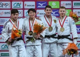 Eduard Trippel gewinnt erste Grand Slam Medaile.